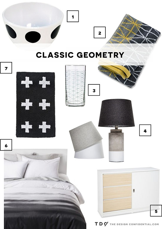 Curently Crushing on Classic Geometry and Target Room Essentials Favorite Decor and Furniture Items