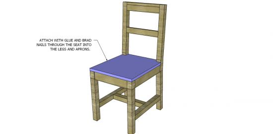 desk chair diy revolving gem free furniture plans to build a restoration hardware inspired step 4