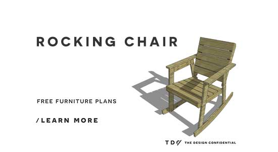 free rocking chair plans genuine leather club and ottoman diy furniture how to build a the