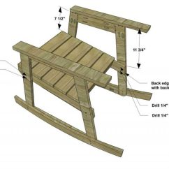Building A Rocking Chair Beach Wedding Decoration Ideas Free Diy Furniture Plans How To Build The Design Confidential