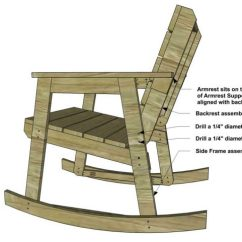Building A Rocking Chair Thonet Bent Plywood Free Diy Furniture Plans How To Build The Design Confidential