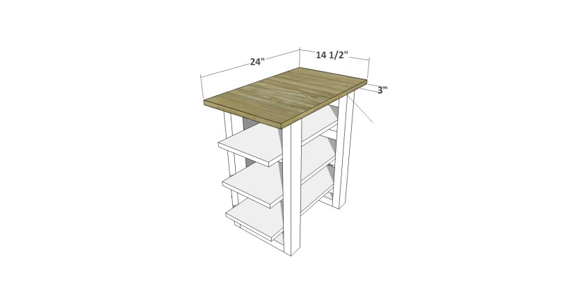 You Can Build This! Easy DIY Plans from The Design Confidential with Complete Instructions on How to Build a Sauder Shelf Table and Oven via @thedesconf