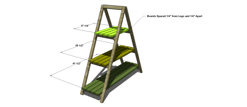 You Can Build This! The Design Confidential Free DIY Furniture Plans to Build an A Frame Planter Stand