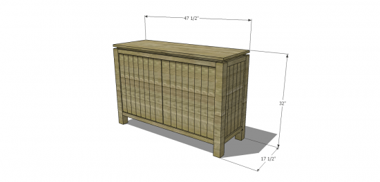 You Can Build This! Easy DIY Plans from The Design Confidential with Complete Instructions on How to Build a Staley Sideboard via @thedesconf