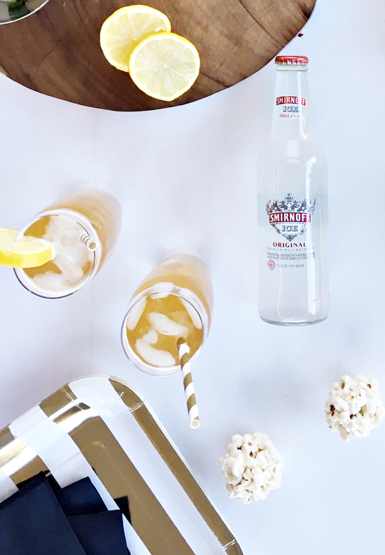 The Design Confidential x Smirnoff Ice // Super Bowl Soiree Recipes in Under 15 Minutes
