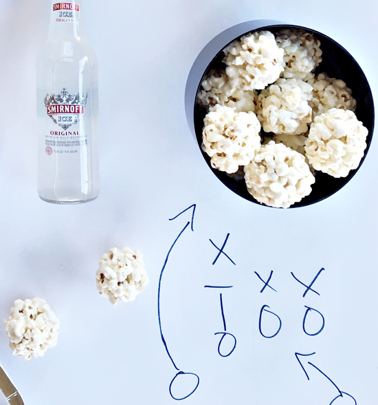 The Design Confidential x Smirnoff Ice // Super Bowl Soiree Recipes in Under 15 Minutes