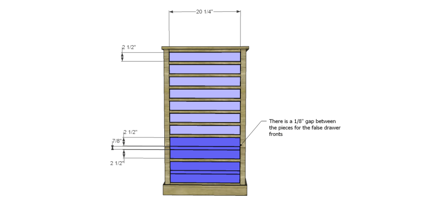 You Can Build This! Easy DIY Furniture Plans from The Design Confidential with Complete Instructions on How to Build a Shelby Accessory Tower via @thedesconf