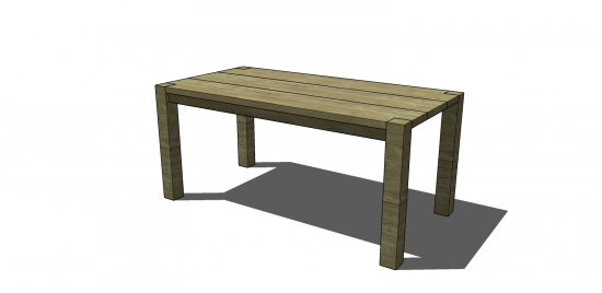 Fresh Free Woodworking Plans to Build a Crate u Barrel Inspired Big Sur Coastal Collection Dining Table