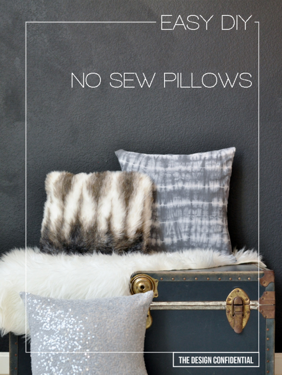 The Design Confidential DIY // A 6 Second No-Sew Pillow Vine Video with Lowes