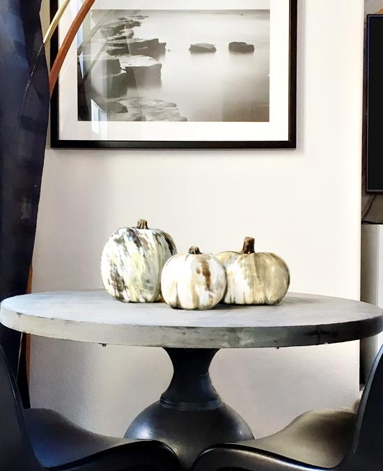 DIY // Faux Natural Horn Decorative Pumpkins