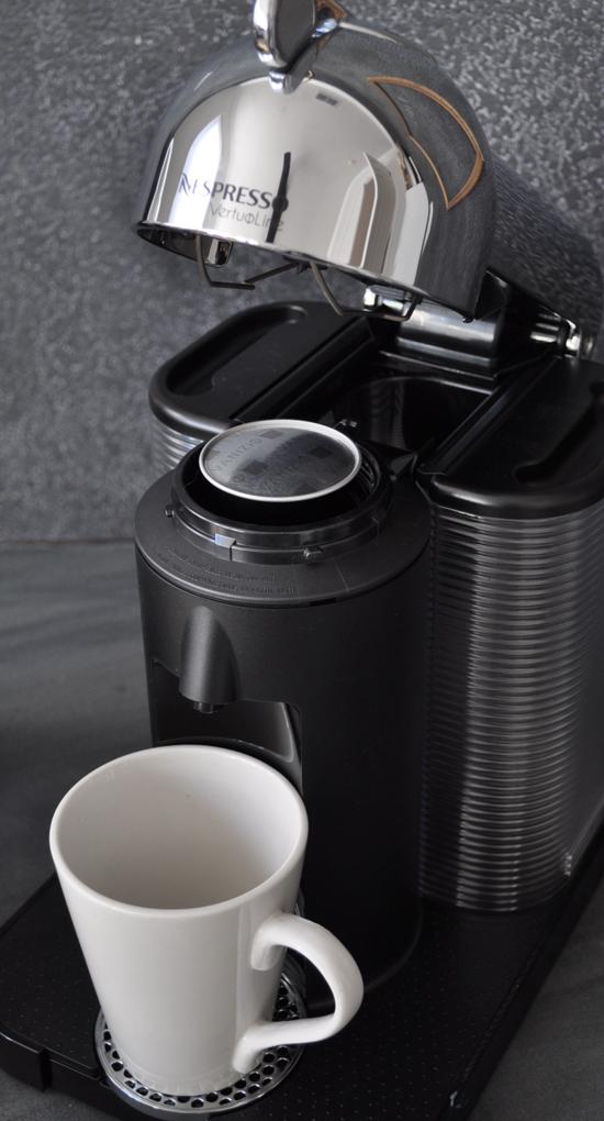 Coffee Capsules in the Nespresso VertuoLine The Design Confidential Home for Holidays // Easy Pumpkin Spice Eggnog Latte Recipe