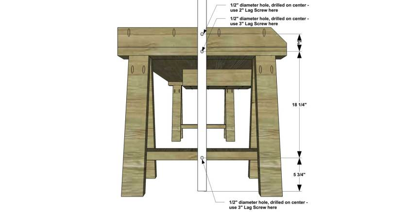 You Can Build This! Easy DIY Furniture Plans from The Design Confidential with Complete Instructions on How to Build a Vintage Inspired French Work Table via @thedesconf