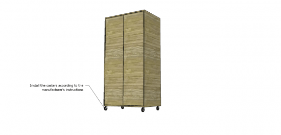 You Can Build This! The Design Confidential Free DIY Furniture Plans to Build a Simple Wardrobe