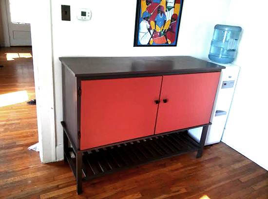 Reader Showcase: Two Toned Cucina Console