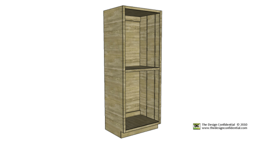 Free Woodworking Plans to Build the Easiest Pantry Cabinet Ever ...