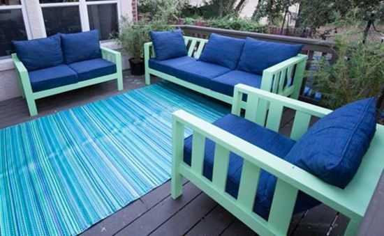 Builders Showcase // JustinVaughnu0027s Outdoor Reef Collection Living Space