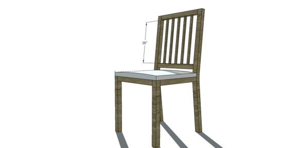 You Can Build This! Easy DIY Plans from The Design Confidential Free DIY Furniture Plans // How to Build a Louis XVI Slatted Chair via @thedesconf