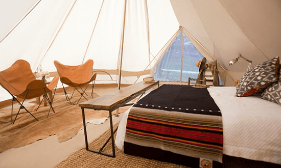 Inside Layout of a Yurt for One Last Hurrah + a Fall Favorite // The Art of Glamping