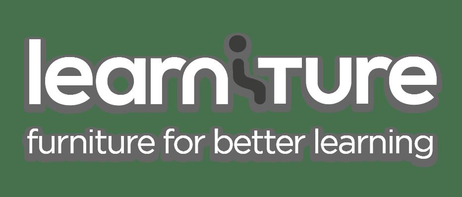 Learniture brochure design, featuring Learniture branding