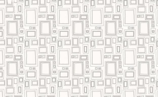 Funky Frame Wallpaper The Design Sheppard