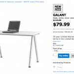 My Ikea workspace to draw with the Wacom Cintiq 22HD