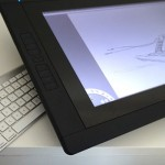 My first day and impressions of my Wacom Cintiq 22 HD Touch
