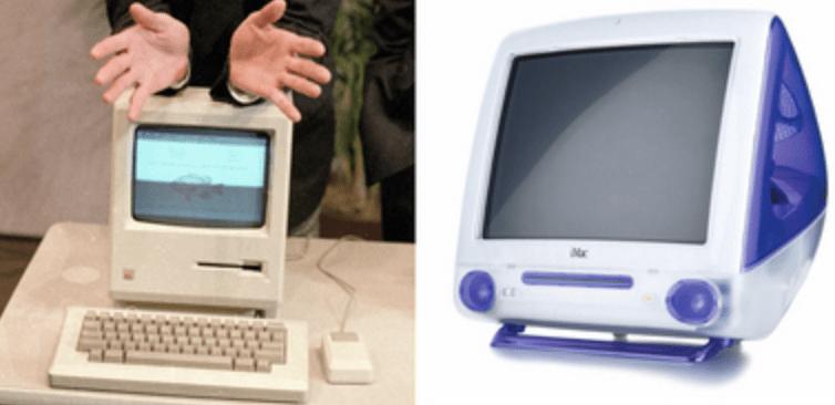 Apple Macintosh Colorful design