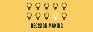 Decision Making - Light bulb icons