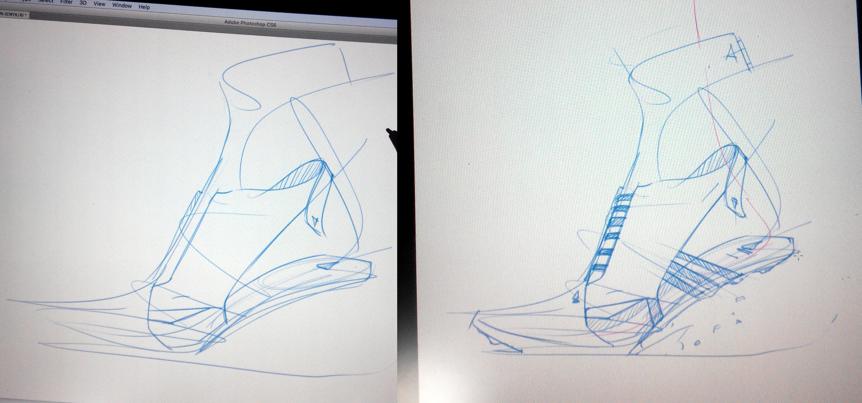 Adidas sketch sneaker 2 steps The Design Sketchbook Photoshop a copy