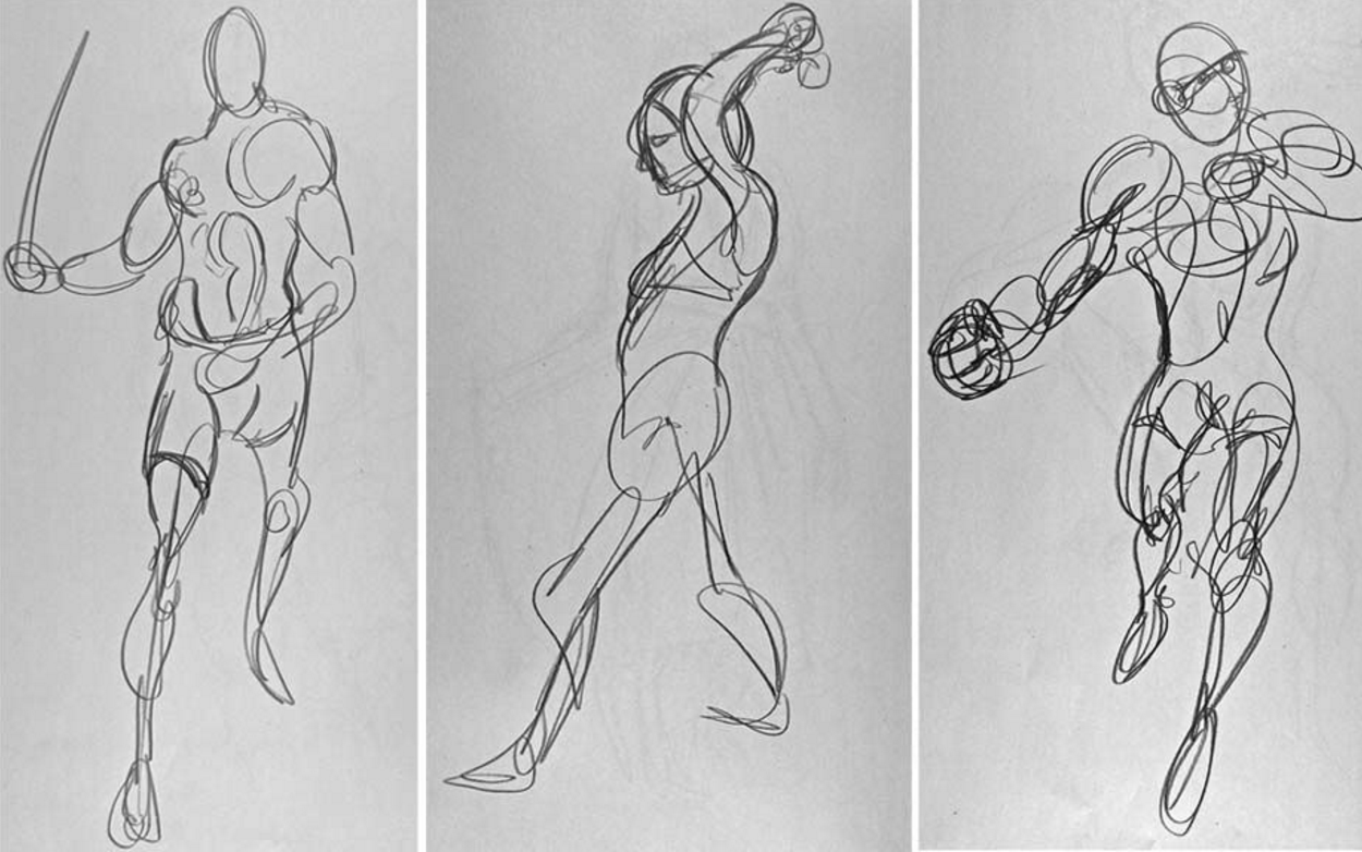 Kimon Nicolaides Gesture drawing.png