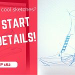 Wanna get cool design sketches? (Do not start with details)