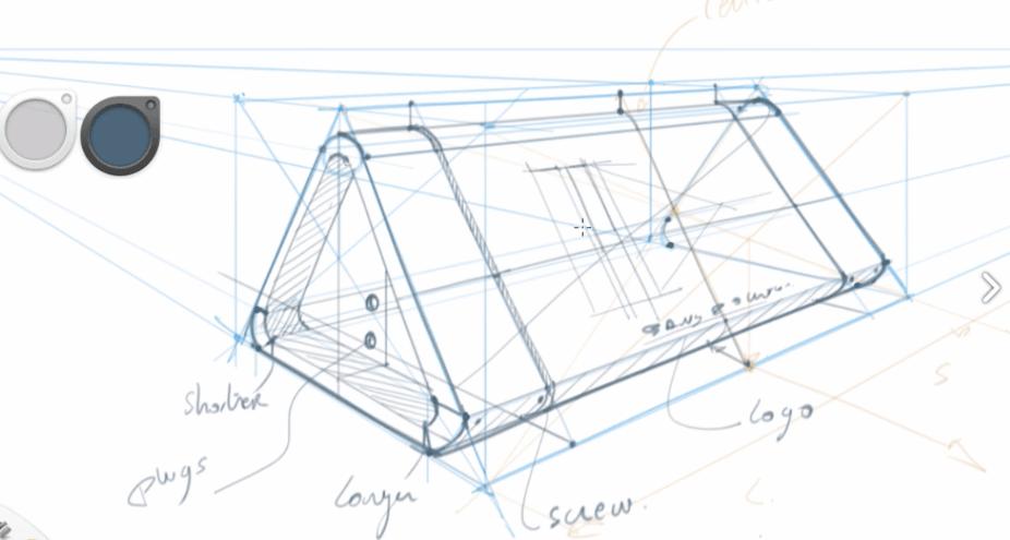Chou-Tac Product design sketch the design sketchbook bring your sketch alive tutorial Consturction lines Sketchbook Pro software.png
