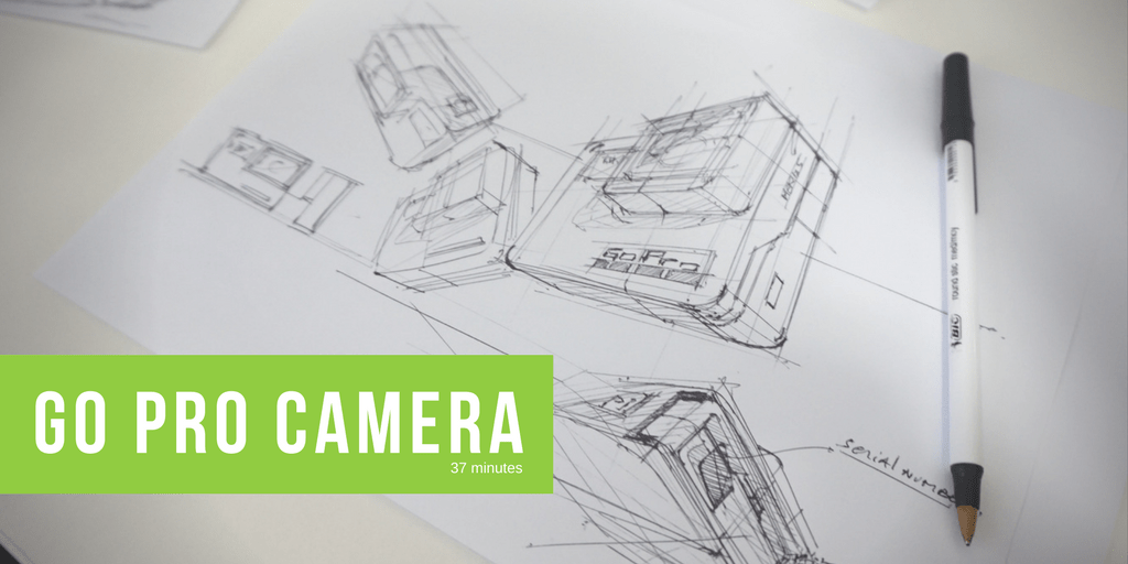 How to draw a Camera | Go Pro