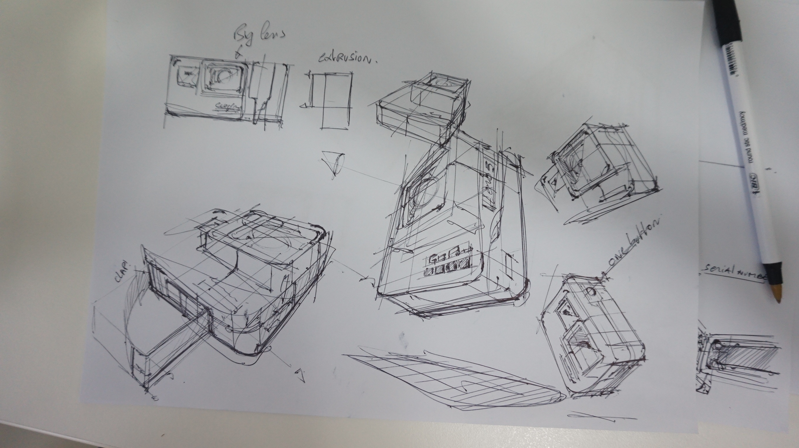 c Ugly Doodle Sketching a Go Pro - product design sketching tutorial the design sketchbook chou-tac