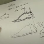 How to draw Sneakers in 3D |live demo