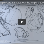 How to draw New products in 3 steps with this simple creative technique