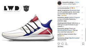 Sneaker drawn by Amor Jiménez //Loveworks_design