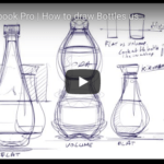How to Draw a Bottle Easily (Product Design)|TIP 139 |VIDEO