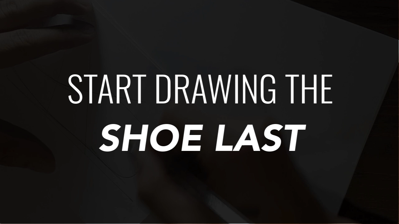 Draw your Sneaker design with a Dynamic style! with your ball point pen - The Design Sketchbook - Design sketching tutorial - Chung Chou-Tac d Start drawing with the shoe last