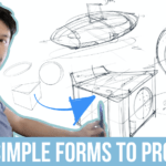 How to Draw Products Design Easy (Starting with Simple Forms!)