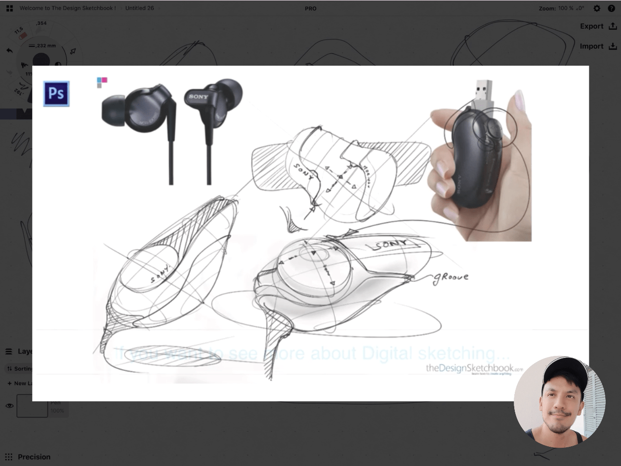 How to draw Creative random doodles of bags - Product design sketching - The Design Sketchbook Free video tutorial guide a9