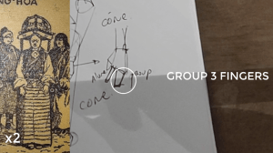 how to draw a body - character design sketching - group hand 3 fingers