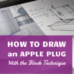 How to Draw a Plug Easy (Block Sketching Technique)