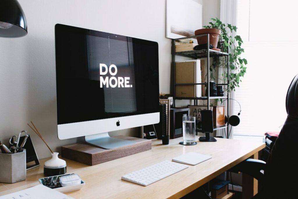iMac message - Do More
