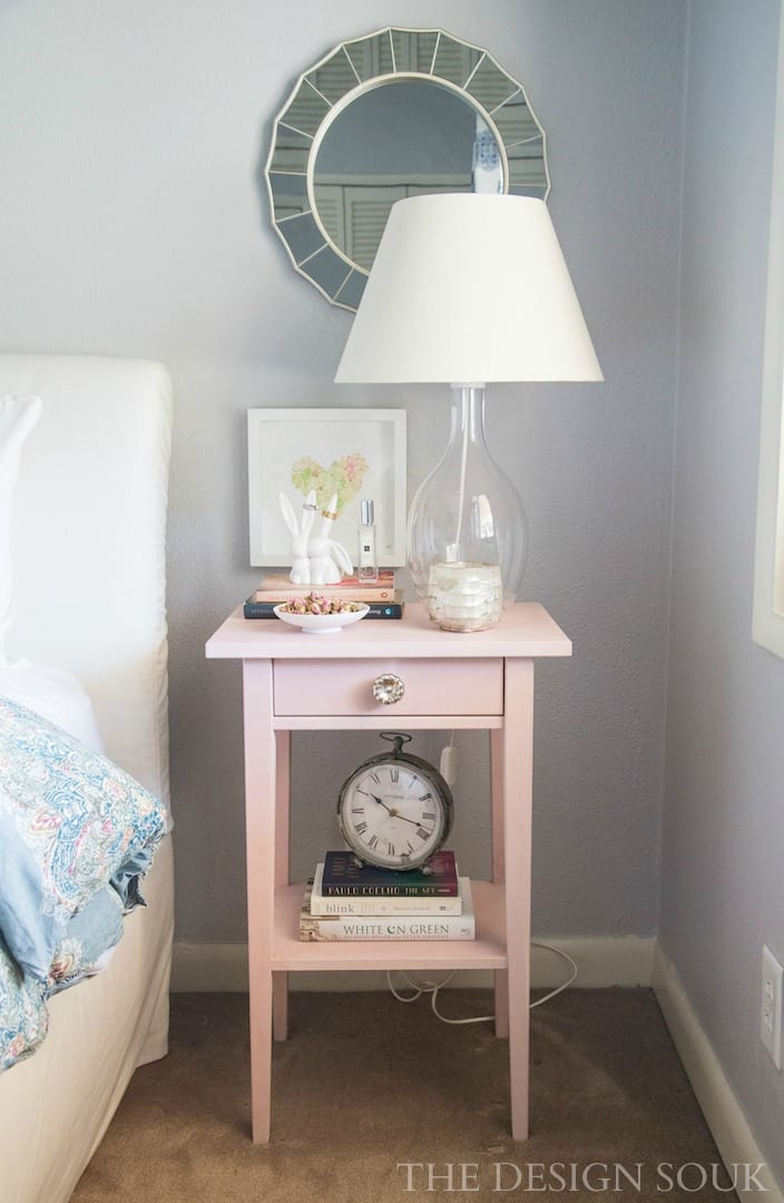 My IKEA Hemnes Nightstand Makeover with Annie Sloan Chalk Paint