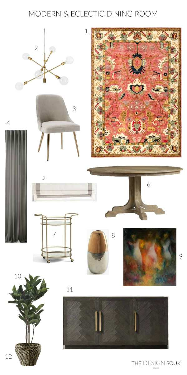 The Design Souk Styles: Dining Rooms