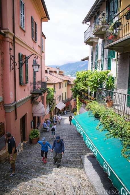Small streets of Bellagio