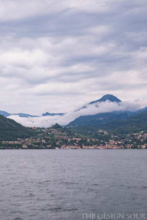 Views of Menaggio from the ferry
