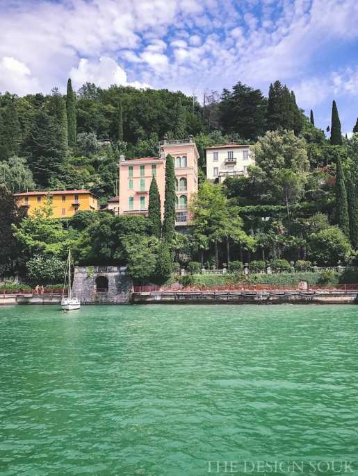 Views of Varenna from our ferry