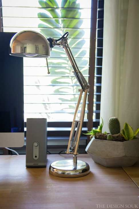 The amazing FORSÅ IKEA desk lamp. For SR 75, this lamp is a total steal!